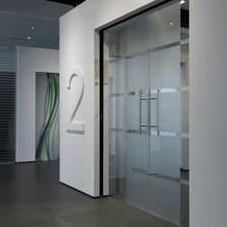 Design/Glazen deuren